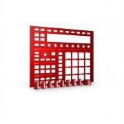 Native Instruments MASCHINE CUSTOM KIT Placa frontal roja (22128)