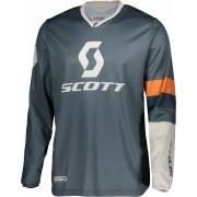 Scott 350 Track Regular Jersey de Motocross Azul Naranja L