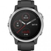 Garmin Chytré hodinky Garmin fenix 6S Silver w/Black Band (no MAP/Music/Pay)