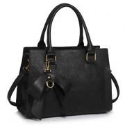 L&S Fashion LS00374C чанта в ръката черен
