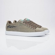 Puma x trapstar clyde bold Burnt Olive