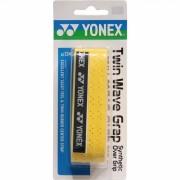Yonex grip Ac134ex Twin Wave geel