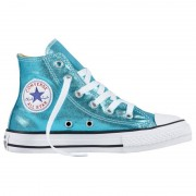 Converse Sneakers Converse All Star Chuck Taylor Metallic Girl turchese (Colore: turchese metallizzato, Taglia: 27)