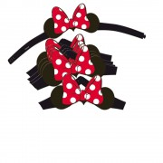 Verbetena Pack 6 orecchie Minnie mouse