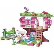 Mega Bloks Jeu de construction Hello Kitty Mega Bloks - Maison dans l'arbre
