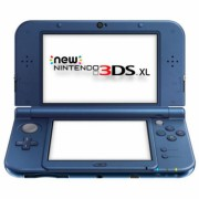 CONSOLA NINTENDO NEW 3DS XL AZUL METALICO