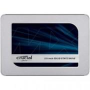 "SSD 500GB Crucial MX500, SATA 6Gb/s, 2.5"" (6.35 cm), скорост на четене 560 MB/s, скорост на запис 510MB/s"