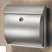 Burgwächter CLASSICO plastová poštovní schránka, stříbrná