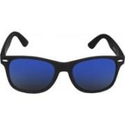 Silver Kartz Wayfarer Sunglasses(Blue)