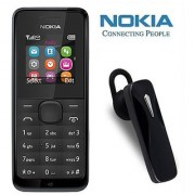Nokia 105 / Good Condition/ Certified Refurbished ( 1 Year Warranty) with Bluetooth