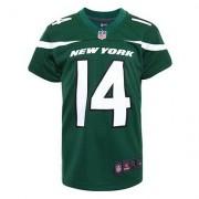 Nike Jersey Infantil Nike NFL New York Jets N° 14 Sam Darnold - - Verde+Blanco