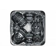 items-france SOLACE BLACK - Spa 5 places balboa 213x213cm