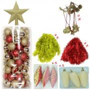 Set 158 Ornamente Brad: Pachet Premium
