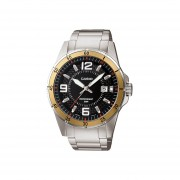 Reloj Casio MTP-1291D1A3 De Hombre-Plateado