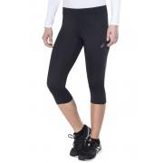 asics Knee Tight Hardloop Shorts Dames zwart XS 2018 Hardloopbroeken
