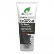 Dr. Organic Charcoal Mélytisztító arclemosó aktív szénnel - 200ml