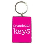 metalen sleutelhanger - grandma's keys