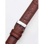 Curea de ceas Uhren20 x 185 mm braun silberne Schliesse