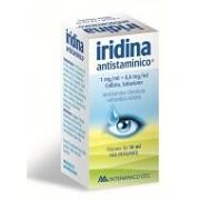 Montefarmaco Otc Spa Iridina Antistamin 1 Mg + 0,8 Mg/Ml Collirio, Soluzione Flacone Da 10 Ml