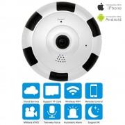 Funi Fisheye V380 Panoramic Camera HD 960P Wireless Wifi IP Camera Home Security Surveillance System Camera Wi-fi 360 degree