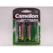 Camelion R20 D baterii super heavy duty 1.5V blister 2