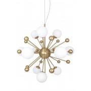 Globen Lighting Pendel Copernicus Antikmässing