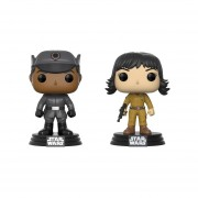 Star Wars Set 2 Piezas Rose & Finn Funko Pop Starwars Guerra De Las Galaxia 2018