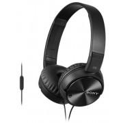 Casti Stereo Sony MDRZX110NAB, tip DJ, Microfon, Izolare zgomot (Negru)