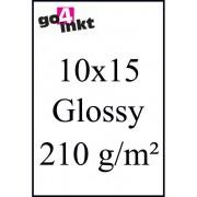(Foto) papier Huismerk Glossy Photo-Papier (10x15) 210g/m² (50st.)