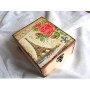 cutie lemn decorata 22277