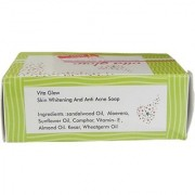 vita Glow Skin Whitening Anti- Acne Soap (1 Piece) (135g Weight)