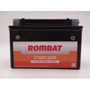 Baterie moto, scuter, atv Rombat 12V 8Ah curent pornire 80A, AGM Gel RBX9-BS