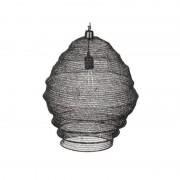 lámpara techo Lena negra grande