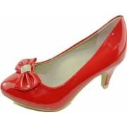 Pantofi cu toc pentru fete MRS M1288R Rosu 31