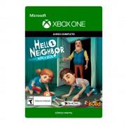 Microsoft hello neighbor hide and seek xbox one
