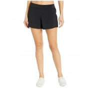 Reebok Work Out Ready Knit Woven Shorts Black