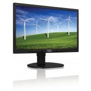 "Philips Brilliance B-line 220B4LPYCB - Monitor LED - 22"" - 1680 x 1050 - 250 cd/m² - 1000:1 - 5 ms - DVI-D, VGA, DisplayPort -"