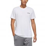 Adidas T-Shirt D2M, kleiner Logo-Aufdruck