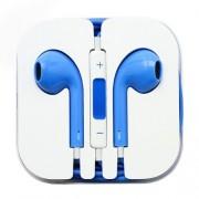 Casti Handsfree Stereo Cu Microfon Si Telecomanda iPhone iPad Samsung Huawei Universale Albastre