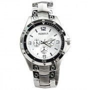 TRUE CHOICE NEW BRAND Rosra Silver Stylish Rosra Watch - Rosra Watches For Men