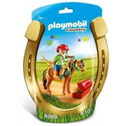 Playmobil Country, Ingrijitor si ponei cu floricele