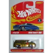 Hot Wheels Classic Series 1: 1956 Ford F-100 #4 of 25 1:64 Scale