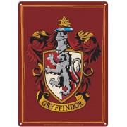 Half Moon Bay Harry Potter - Gryffindor Tin Sign - 21 x 15 cm