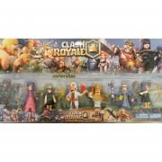 Clash Royale - Set 8 Figuras 9-10 cm personajes principales