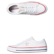 Converse Womens One Star Leather Shoe White