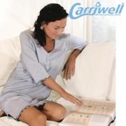 """Carriwell -Нощница за бременни и кърмачки """"Сара"""" - меланж"""