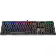 Геймърска механична клавиатура A4tech Bloody B820R, Сини суичове, Черна, A4-KEY-B820R-BLUE