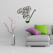 Sticker decorativ de perete Sticky, 260CKY5078, Negru