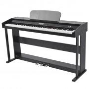 vidaXL Pianino cyfrowe z 88 klawiszami i pedałami, płyta melaminowa