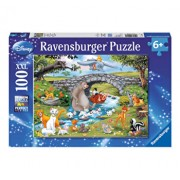 Puzzle Lumea animalelor Disney, 100 piese
